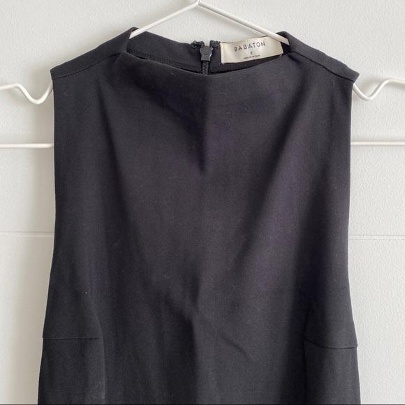 BABATON bodycon midi dress size 2